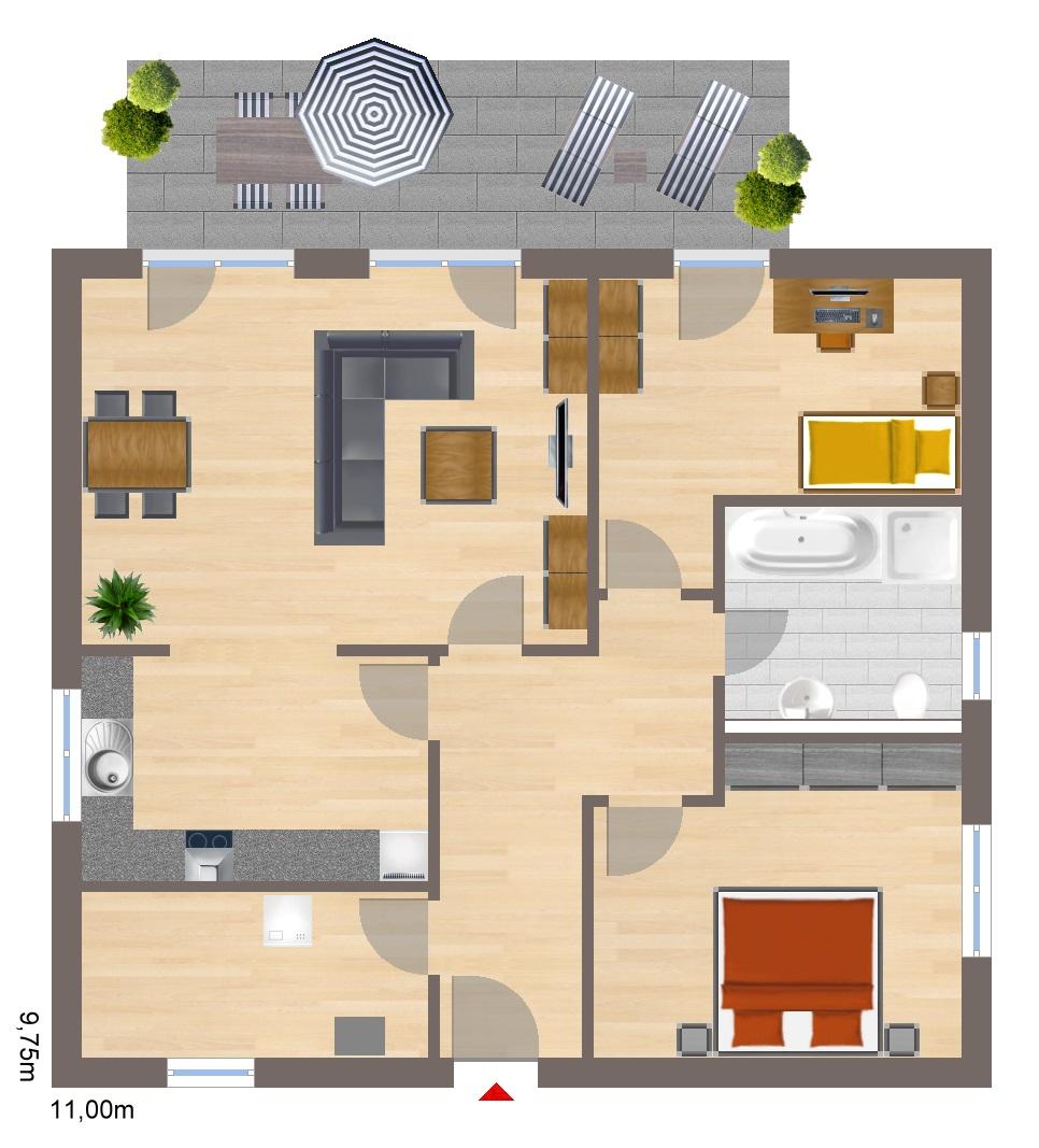 IZ-Haus: Hausausstellung; Neubau, Massivhaus, Hausbau ...
